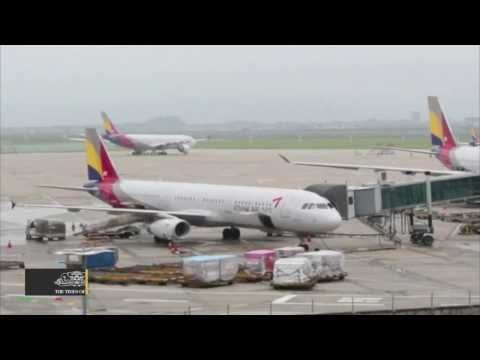 US Fines Asiana Airlines $500,000  - TOI
