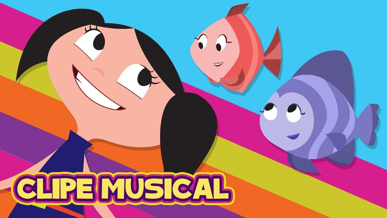 O show da luna glub glub clipe musical 15 youtube for Do fish drink water