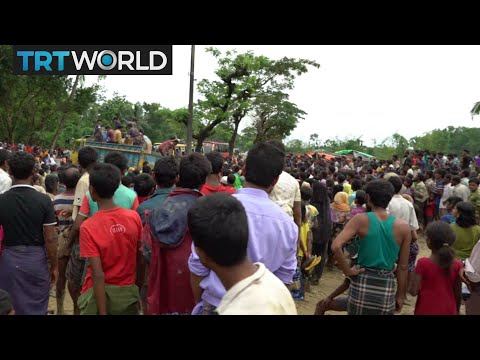 Rohingya Refugee Crisis: Long lines for scarce aid in Bangladesh