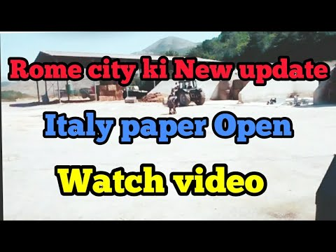 Repeat Italy to Canada pura process and info ll italy paper open