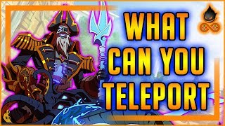 What can you teleport With Dredge's Shortcut?