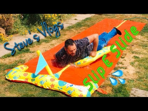 Slip & Slide | Steve's Vlogs