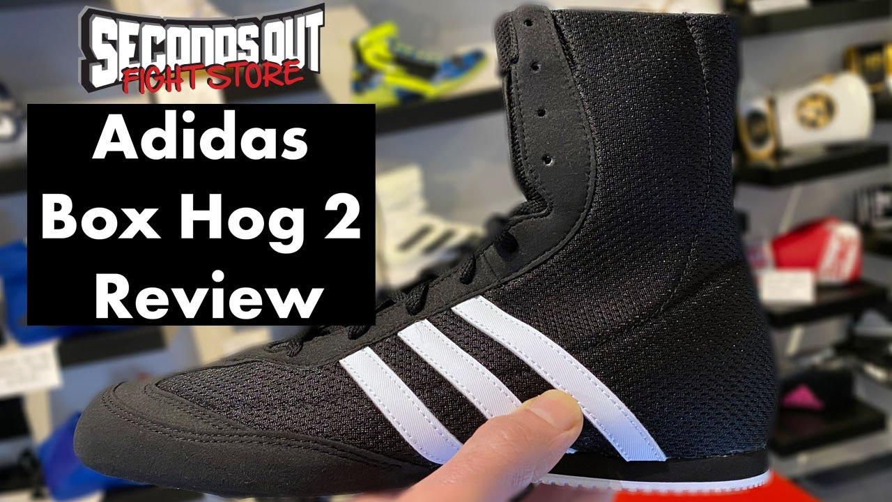 Adidas Box Hog 2 Boxing Boots Review
