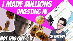 I MADE MILLIONS INVESTING IN BITCOIN & ETHEREUM