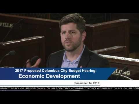 Proposed 2017 Columbus City Budget: Economic Development