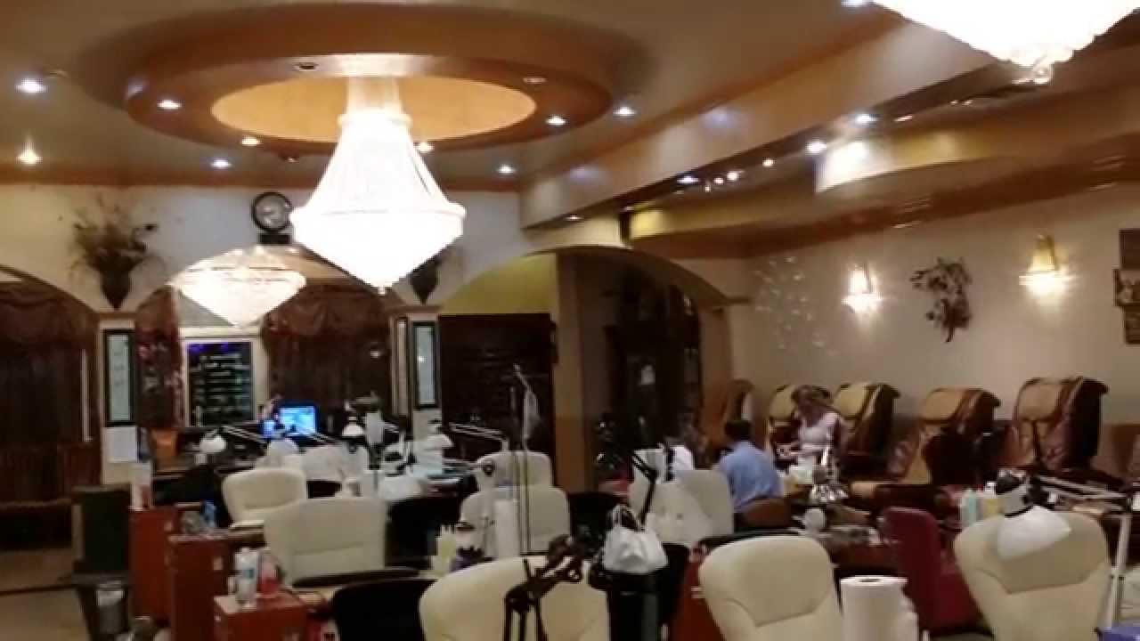 Tiem Nail dep o vung North Carolina cua Tuan Duong - YouTube