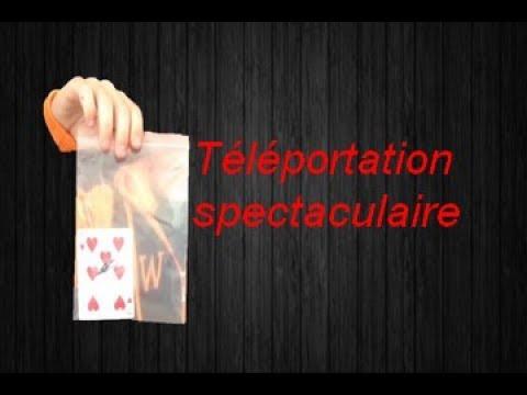 tour de magie carte spectaculaire