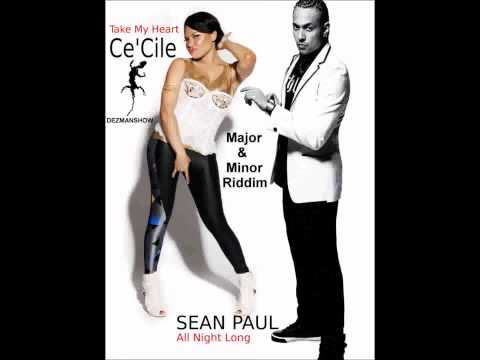 Sean paul feat Cecile - All Night Long - Take My Heart (Major Riddim).mp4