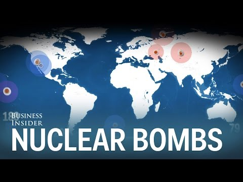 Every Nuclear Bomb Explosion in History, Animated