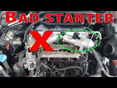 Acura Tsx Starter Replacement