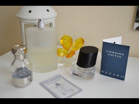 Коллекция парфюма (мужские ароматы)