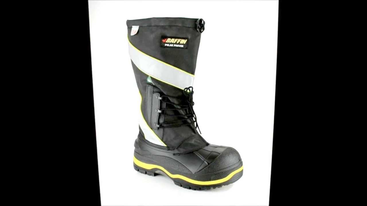 Men's Baffin POLA-MP02-BK2 Composite Toe Insulated Work Boot ...