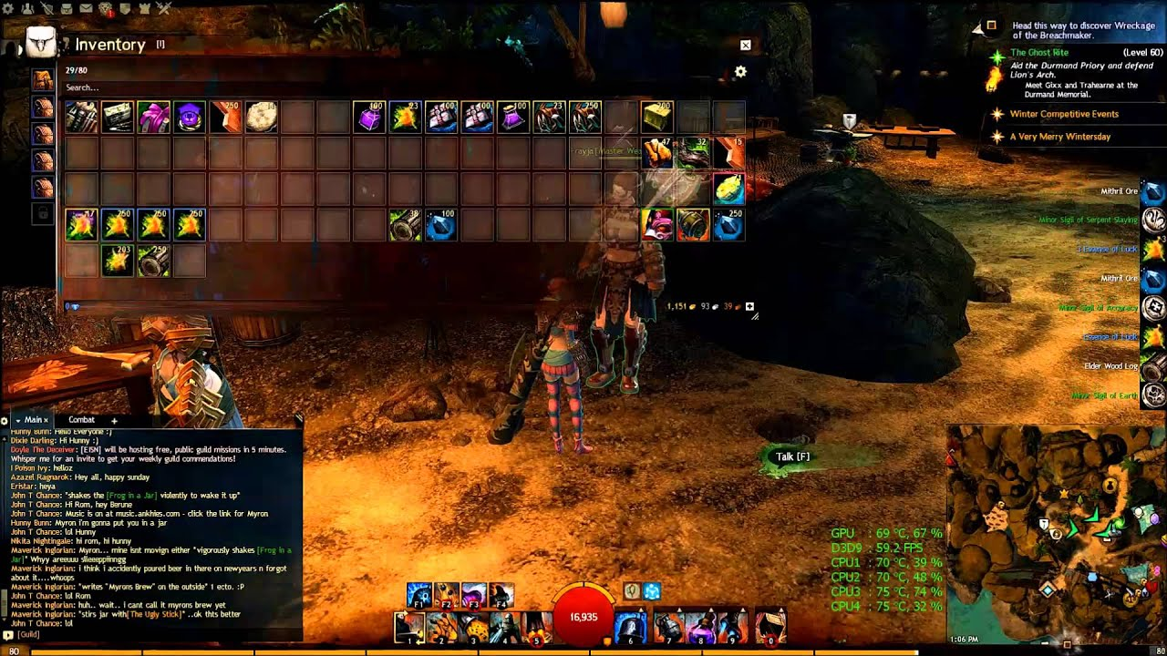 Guild wars 2 400 dragon chests youtube for Cuisinier 400 gw2