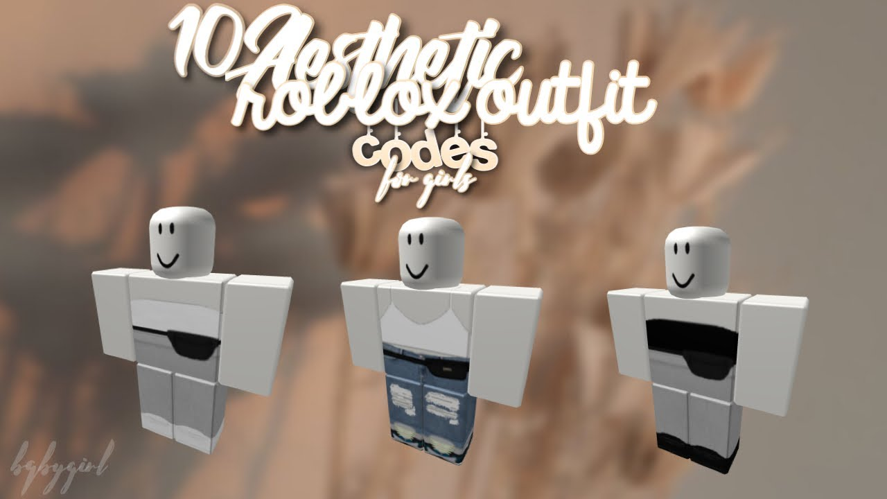 Roblox Aesthetic Outfit Codes For Girls! 💓