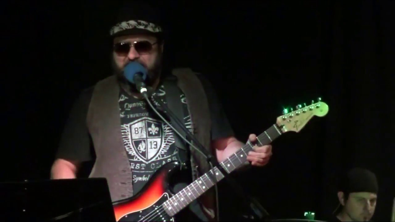 THE RAWKAFELLAS Marco Ciardullo covering Texas flood from SRV - YouTube