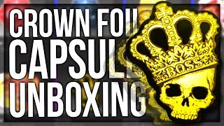 CROWN FOIL STICKER CAPSULE UNBOXING
