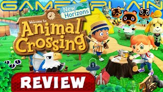 Animal Crossing: New Horizons - REVIEW (Nintendo Switch) (Video Game Video Review)