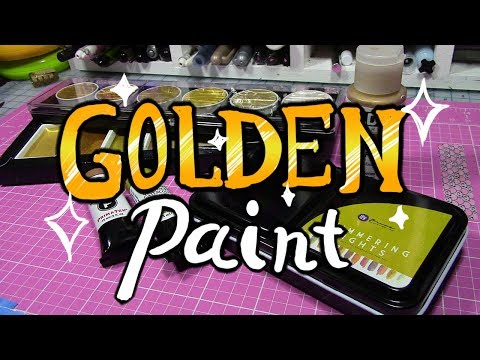 Comparing & Reviewing Golden Paint Brands
