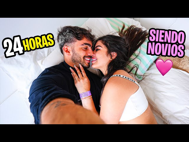 24 HORAS SIENDO NOVIOS CON MI EX NOVIA!