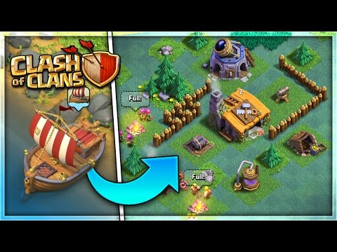"""NEW """"BOAT/BUILDER VILLAGE"""" UPDATE in Clash of Clans! 