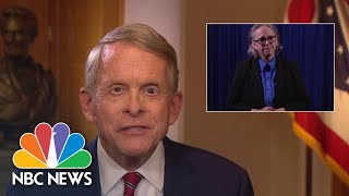 Gov. DeWine: 'Ohio Remains In A State Of Emergency' Due To Covid Case Rise | NBC News NOW