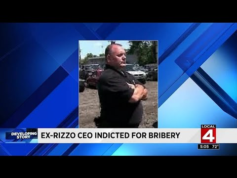 Ex-Rizzo CEO indicted for bribery