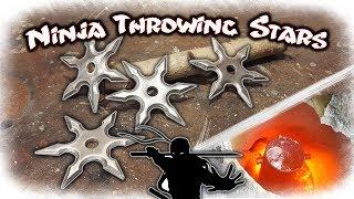 Casting Aluminum Ninja Throwing Stars (Shuriken)