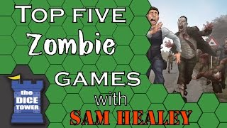 Top 5 Zombie Games - With Sam Healey