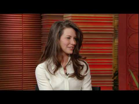 Lost Evangeline Lilly on Regis and Kelly in HD