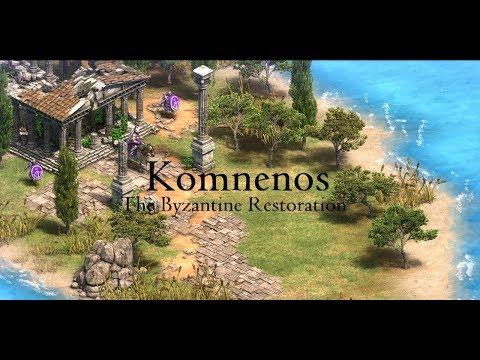 Komnenos: The Byzantine Restoration [HARD] Age Of Empires II: Definitive Edition
