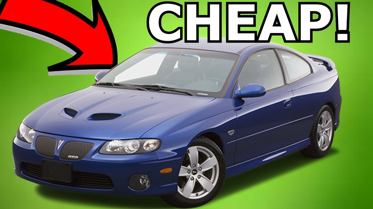 Fast Cheap Reliable Cars Under K YouTube - Fast reliable cars