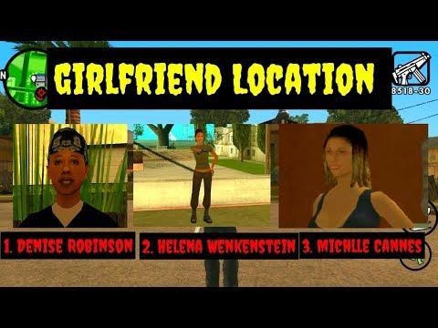 GTA San Andreas : Lokasi  Pacar Carl Johnson (Part 1)