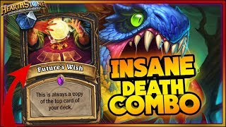 Hearthstone - INSANE DEATH COMBO - WTF RNG Moments