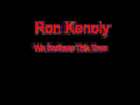 Ron Kenoly We Dedicate This Time + Lyrics