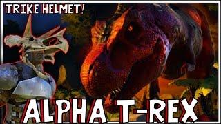 ARK: Survival Evolved - ALPHA T-REX! [28]