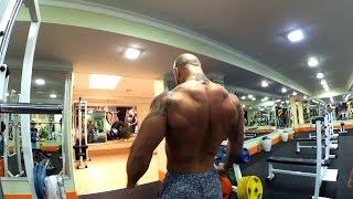 Тренировка. Широчайшие. Мышцы спины. Тренировка на рельеф. Детализация