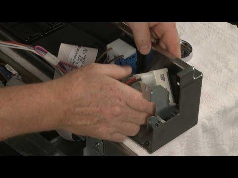 Right Rear Surface Element Switch - Kitchenaid Electric Slide-In Range Model #KSEB900ESS2