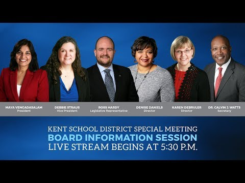 KSD Board Special Meeting: Information Work Session - 04/25/2018