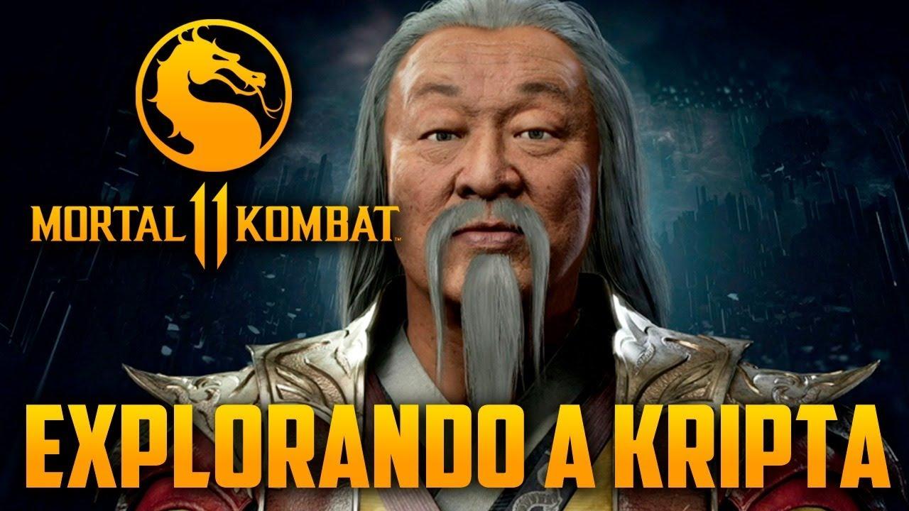 Mortal Kombat 11 - Explorando a KRYPTA e Encontrando SHANG TSUNG, a MELHOR Krypta de TODAS
