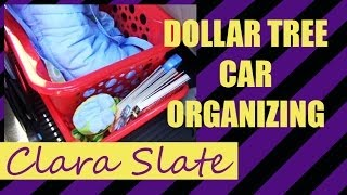 vuclip ♥ DOLLAR TREE ORGANIZING ♥ CAR CLEANUP!!!