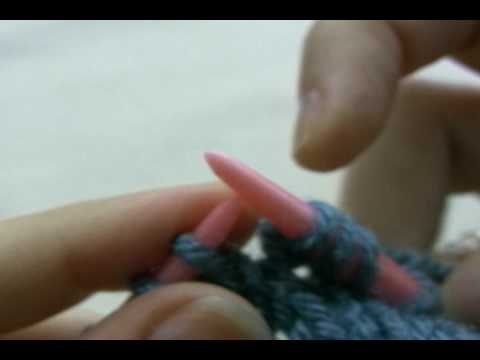 How To Knit Knit In Front And Back Kfb Youtube