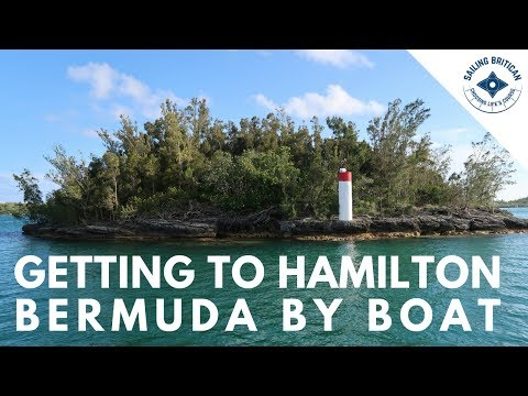 Hamilton Bermuda By Boat   Sailing Britican #5