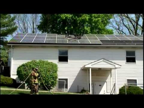 Solar Panels And Fire Safety