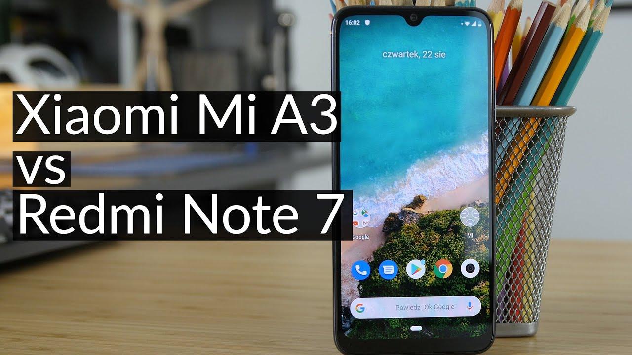 Xiaomi Mi A3 vs Redmi Note 7 - czy nowszy smartfon Xiaomi jest lepszy?