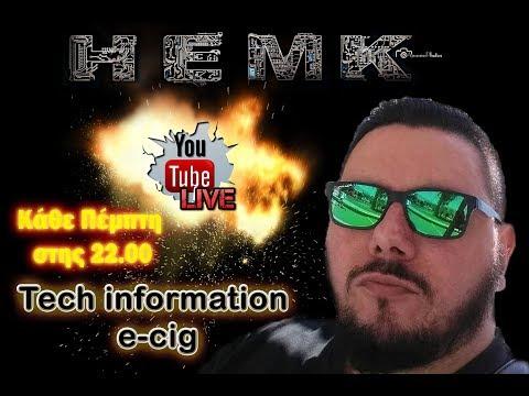 #Live41 #FambioHEMK Tech information for e-cig.