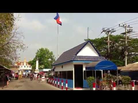 Thailand-Cambodia border - Poipet, Cambodia