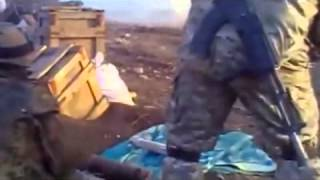 Fire on positions of separskim SPG 9,18 03 2015 Ukraine War,News Today!