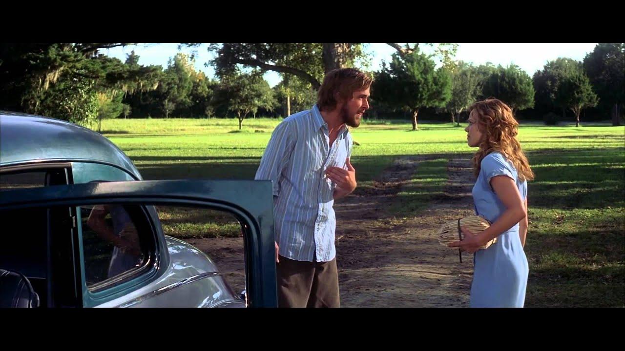 the notebook a film Director: nick cassavetes starring: rachel mcadams, ryan gosling, james marsden and others.