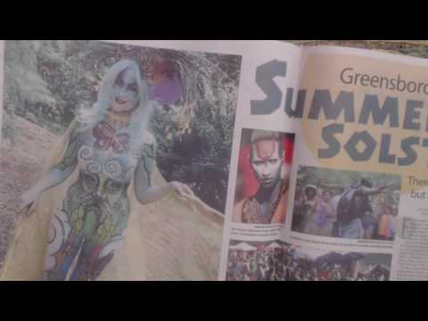 ASMR Whisper ~ Reading Newspaper Articles (Arts, Summer Solstice, etc.)