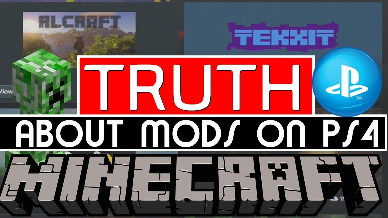 MINECRAFT Bedrock MODS On PS4 When You Will Able TO Get Free Mods